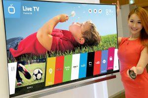 Smart TV sous webOS chez LG