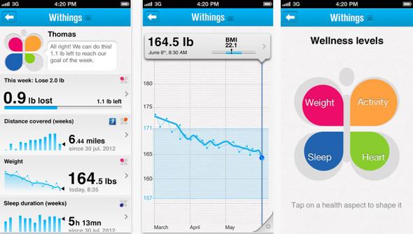 Withings balance WS-50 Smart Body Analyzer