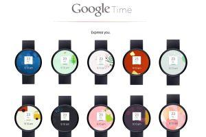 Google LG : Montre connectée ?