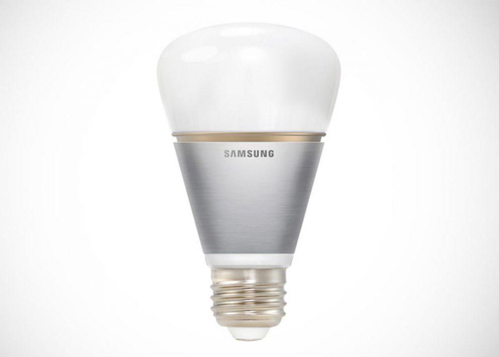 Samsung ampoule connectée