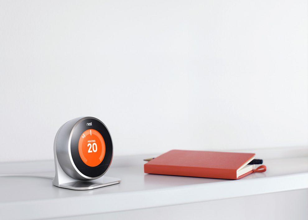 Thermostat Nest version anglaise