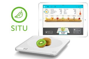 SITU : une balance qui mesure les calories