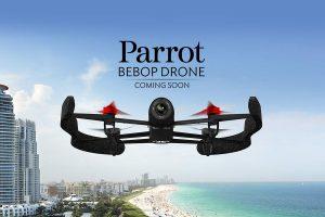 Nouveau Drone de Parrot : le Bebop
