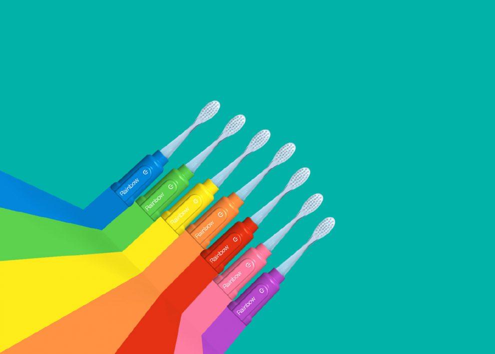 Rainbow Brosse à dents connectée
