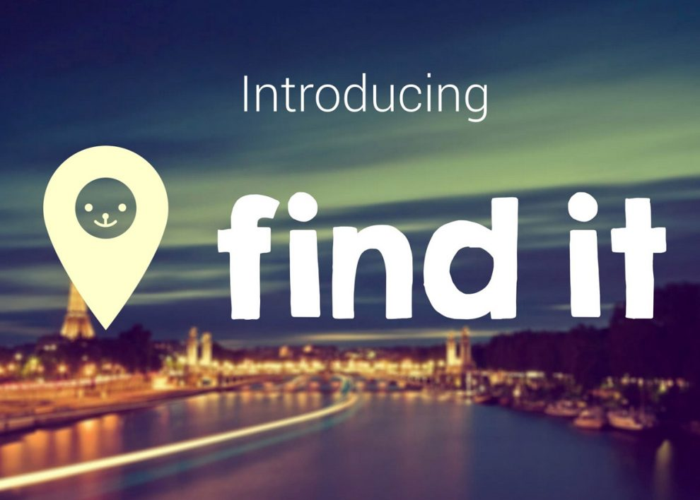 Find it : Application Google Glass