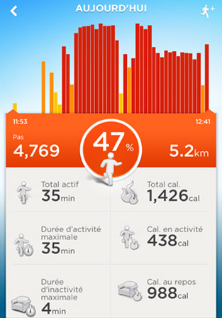 Application mobile Jawbone