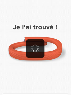 Jawbone : Application