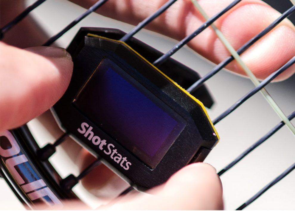 Shot Stats Challenger : Capteur tennis (Kickstarter)