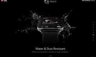 Vidéo LG G Watch