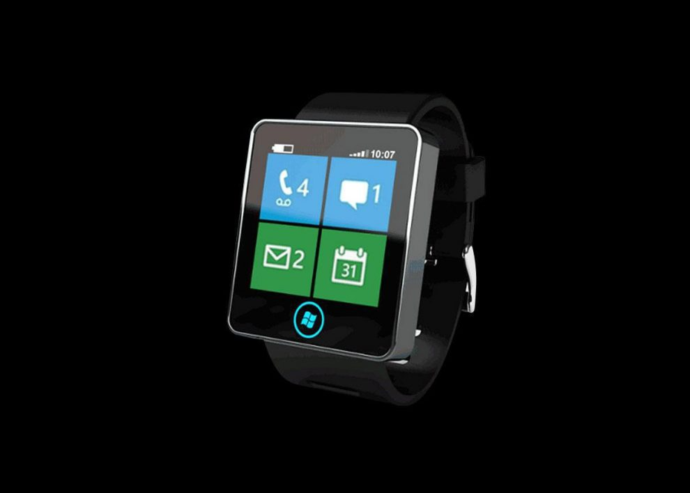 Microsoft Smartwatch with Blood Sugar and UV Measurement