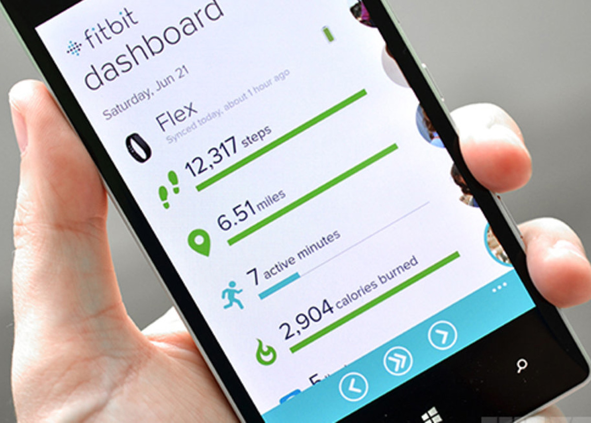 Fitbit compatible Android, iOS et Windows Phone