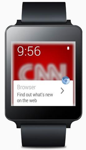 Wear Internet Browser: surfer depuis Android Wear