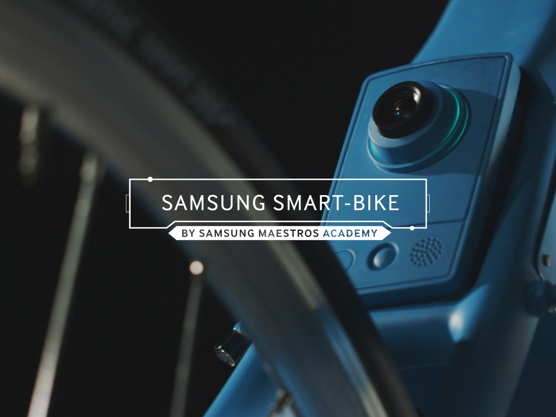 Samsung Smart Bike, le vélo connecté made in Samsung.