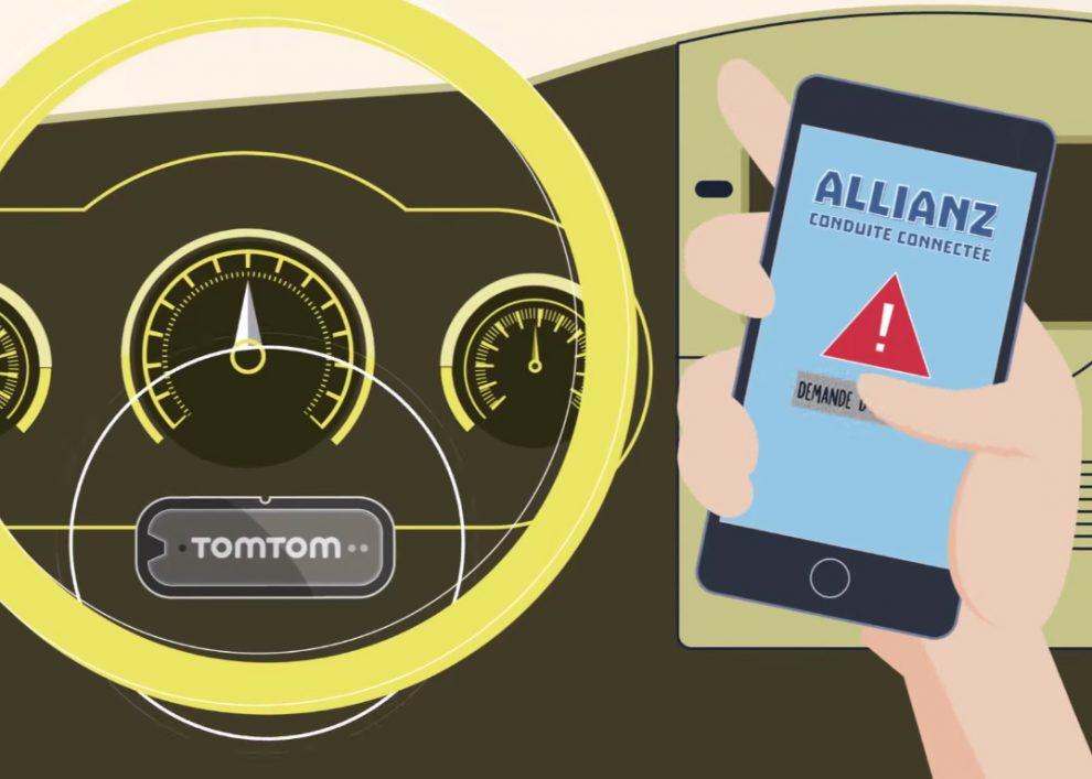 allianz conduite connect e l 39 assistance auto en temps r el. Black Bedroom Furniture Sets. Home Design Ideas