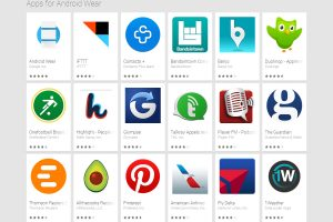 Applications Android Wear sur Google Play