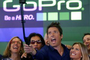 GoPro : le cours de bourse s'envole