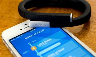 Jawbone UP24 : Application nutrition mise à jour