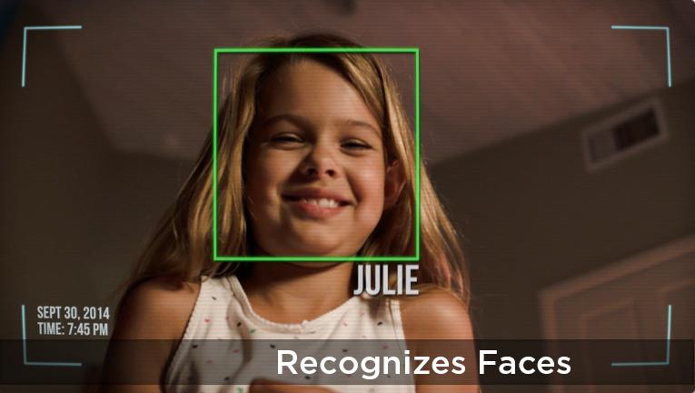 Jibo possède une reconnaissance faciale avancée