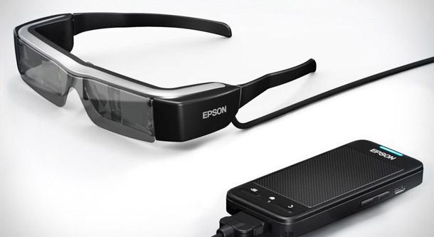 Les lunettes connectées Epson Moverio BT-200