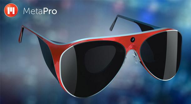 meta pro lunettes connectees