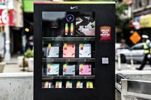 NikeFuel Box : un distributeur Nike à New York