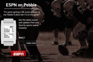 ESPN Pebble
