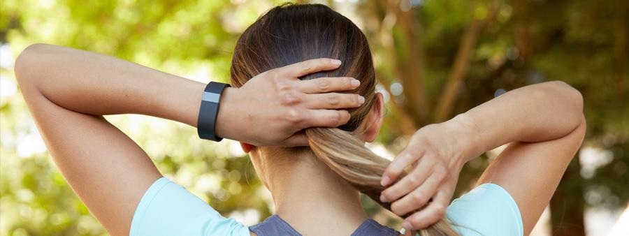 Bracelet connecté pour maintenir son dos