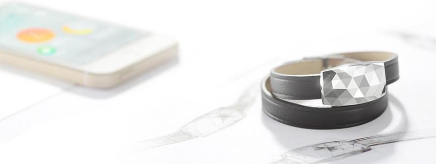 Bracelet June de Netatmo : capteur d'UV