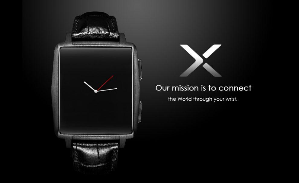 Omate X, une smartwatch Pebble, en moins cher