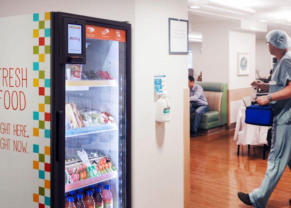 Pantry, un distributeur / frigo connecté