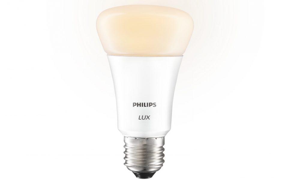 Ampoule connect e philips hue lux pr commandes ouvertes - Ampoule connectee philips ...