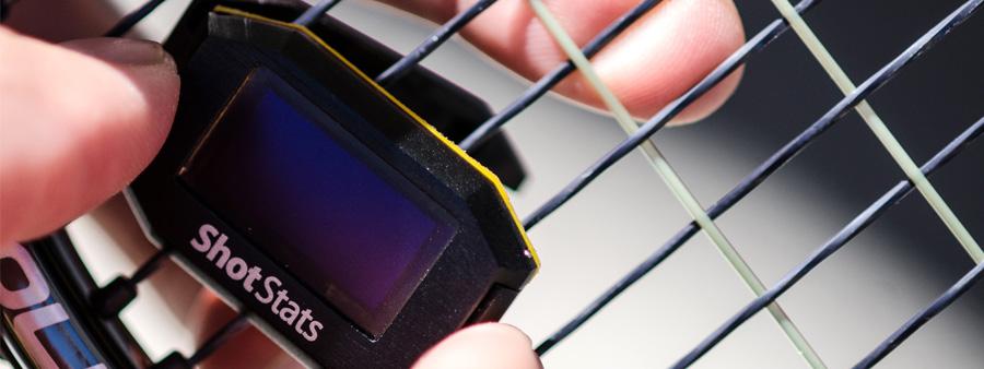 Shot Stats Challenger : Objet connecté pour le tennis