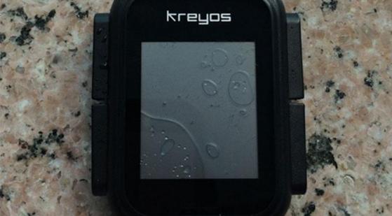 Kreyos n'est pas étanche...