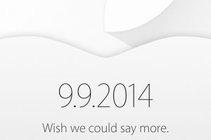Keynote Apple septembre 2014