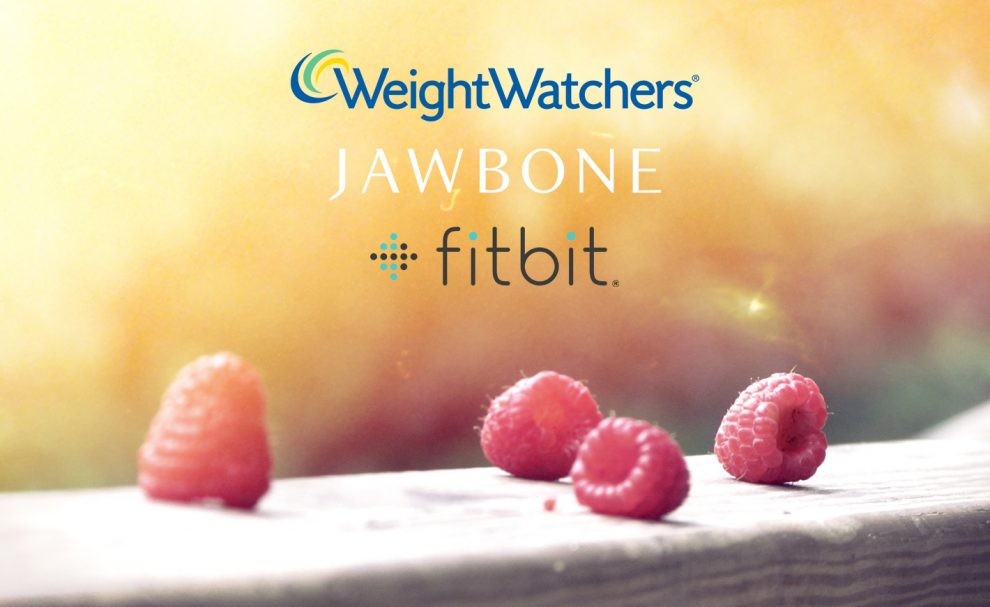 Weight Watchers : Fitbit et Jawbone
