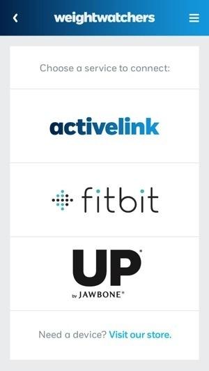 Weight Watchers et Fitbit / Jawbone