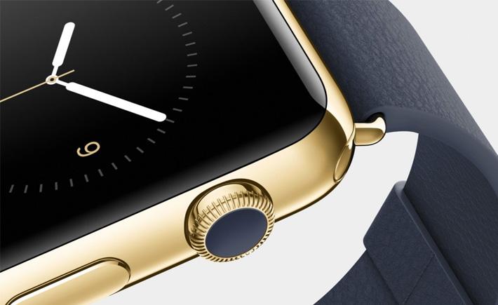 Apple Watch en or : 1200 dollars ?