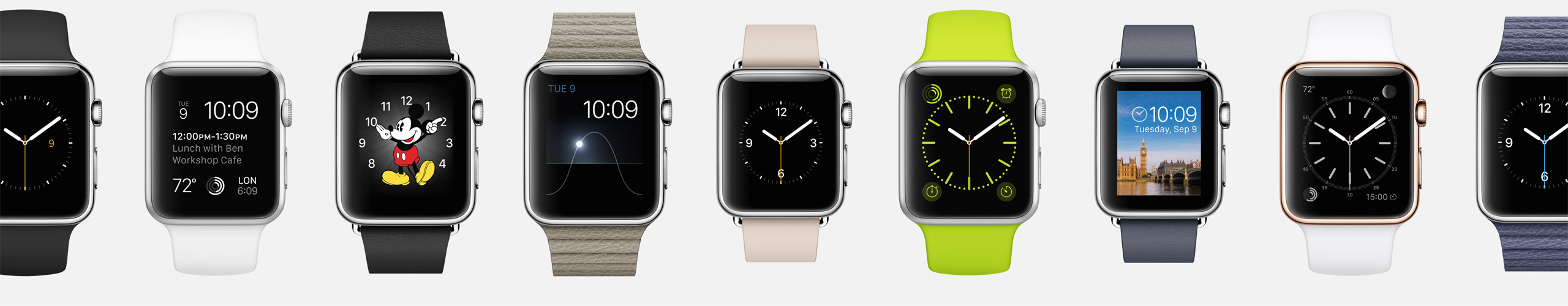 customiser l'Apple Watch
