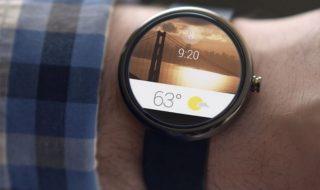 Google : Mises à jour Android Wear
