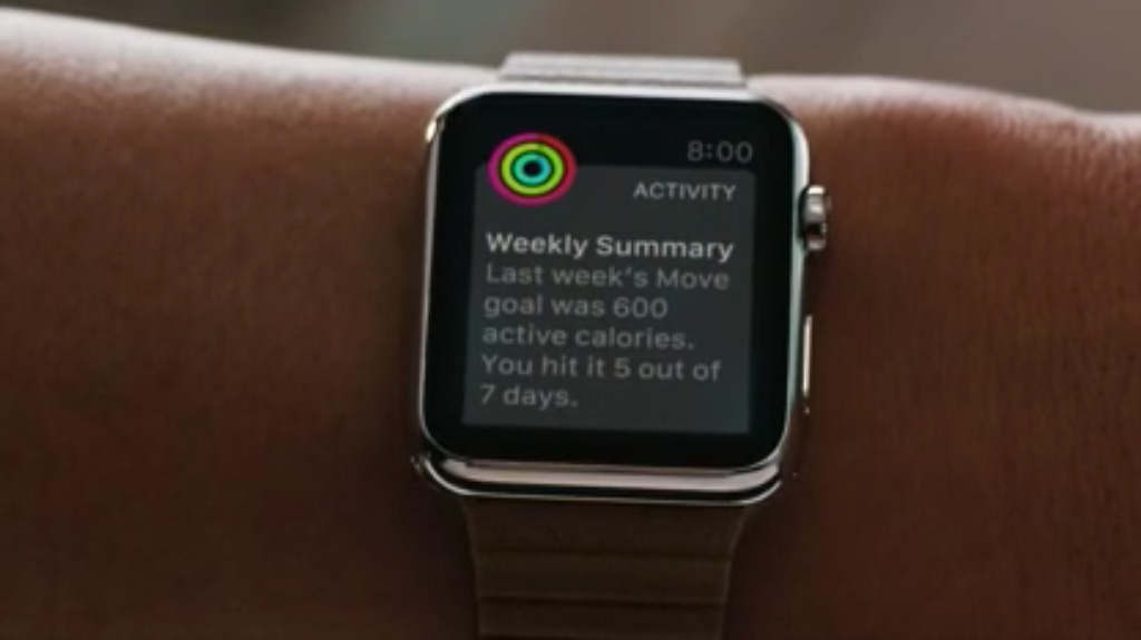 Workout App de Apple Watch