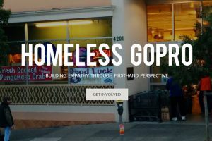 Homeless GoPro, une caméra pour clochard