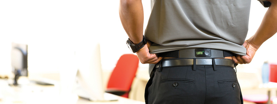 Lumo Back, ceinture connectée