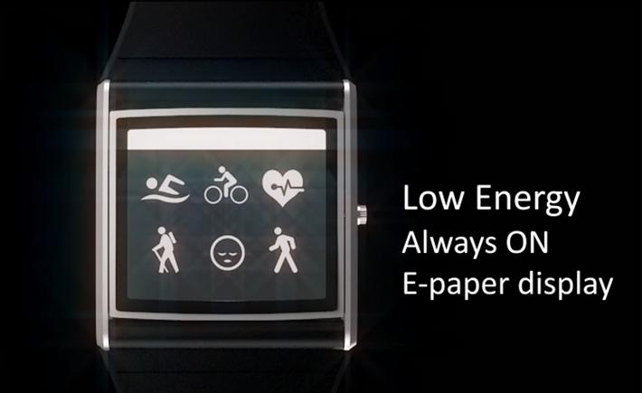 Oru Watch, montre connecté deux écrans