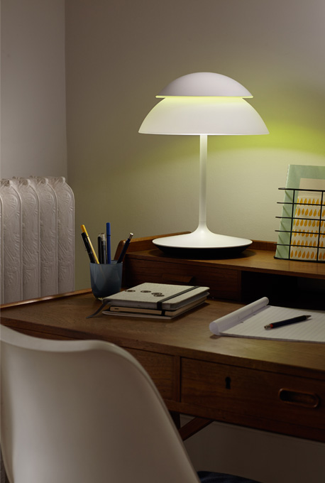 philips se lance dans les lampes avec la gamme hue beyond. Black Bedroom Furniture Sets. Home Design Ideas