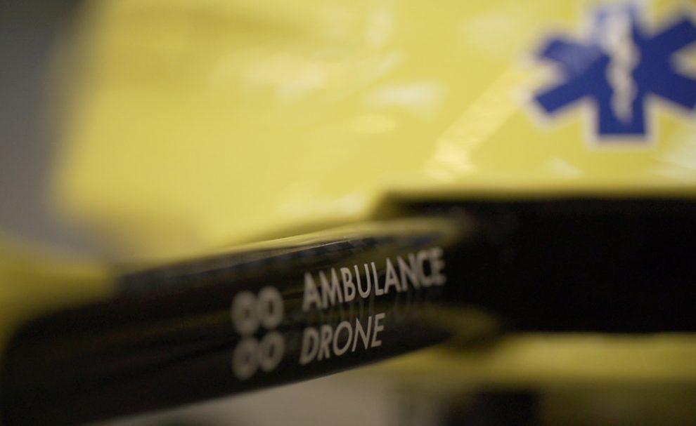 Ambulance Drone défibrillateur