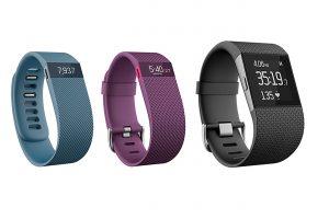 Fitbit Charge, HR et Surge