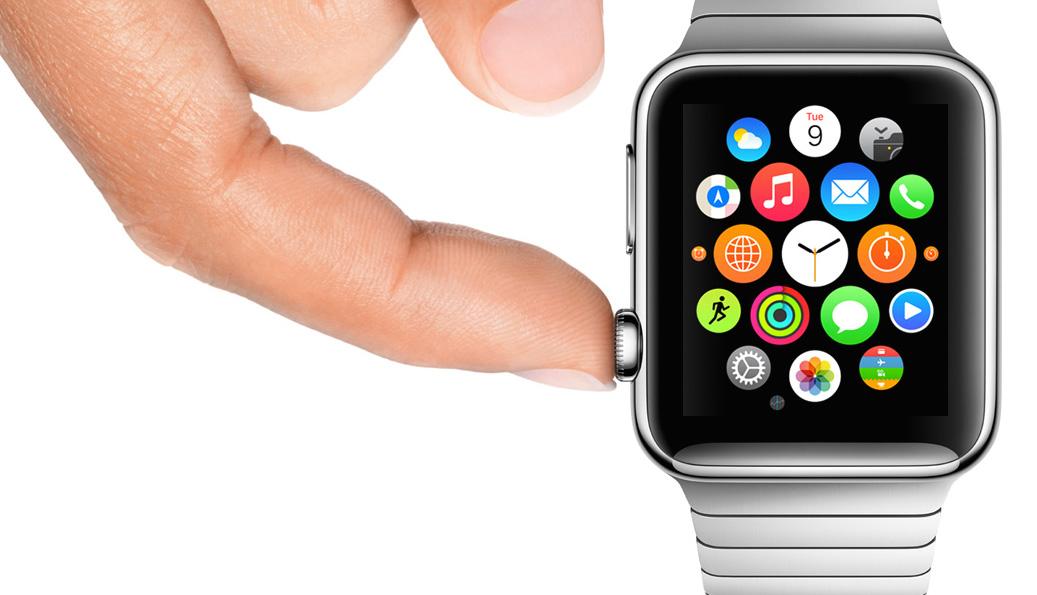 Apple Watch pour gaucher