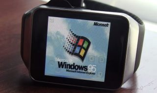 Smartwatch Windows 95, montre connectée
