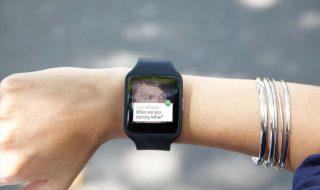Sony Smartwatch 3 sur le Play Store