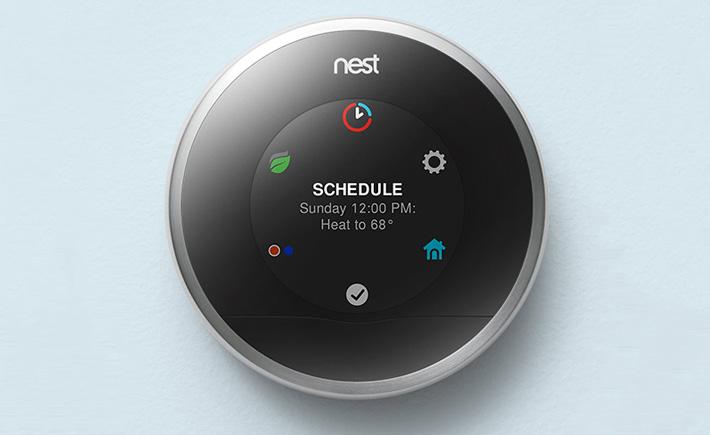Nest compatible avec philips hue lg et august - Thermostat connecte nest ...
